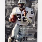 1995 Fleer Football #198 Harvey Williams - Oakland Raiders