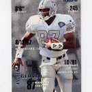 1995 Fleer Football #190 Andrew Glover RC - Oakland Raiders