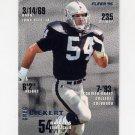 1995 Fleer Football #187 Greg Biekert - Oakland Raiders