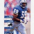 1995 Fleer Football #123 Mike Johnson - Detroit Lions