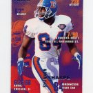 1995 Fleer Football #118 Shannon Sharpe - Denver Broncos
