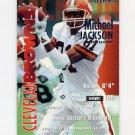 1995 Fleer Football #081 Michael Jackson - Cleveland Browns