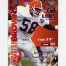 1995 Fleer Football #077 Carl Banks - Cleveland Browns