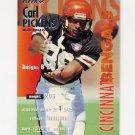 1995 Fleer Football #069 Carl Pickens - Cincinnati Bengals