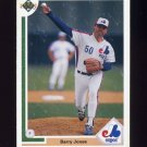 1991 Upper Deck Baseball #789 Barry Jones - Montreal Expos
