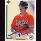 1991 Upper Deck Baseball #776 Dwight Evans - Baltimore Orioles