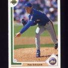 1991 Upper Deck Baseball #766 Pete Schourek RC - New York Mets