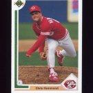 1991 Upper Deck Baseball #748 Chris Hammond - Cincinnati Reds