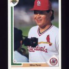 1991 Upper Deck Baseball #728 Mike Perez RC - St. Louis Cardinals