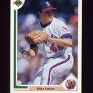1991 Upper Deck Baseball #696 Mike Fetters - California Angels