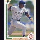 1991 Upper Deck Baseball #675 Hensley Meulens - New York Yankees