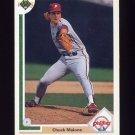 1991 Upper Deck Baseball #649 Chuck Malone - Philadelphia Phillies