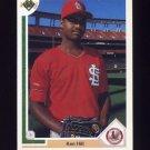 1991 Upper Deck Baseball #647 Ken Hill - St. Louis Cardinals