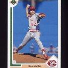 1991 Upper Deck Baseball #613 Rick Mahler - Cincinnati Reds