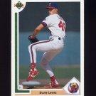 1991 Upper Deck Baseball #594 Scott Lewis RC - California Angels
