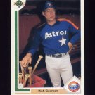 1991 Upper Deck Baseball #588 Rich Gedman - Houston Astros