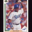 1991 Upper Deck Baseball #560 Chris Gwynn - Los Angeles Dodgers