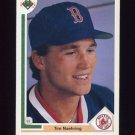 1991 Upper Deck Baseball #527 Tim Naehring - Boston Red Sox