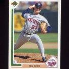 1991 Upper Deck Baseball #490 Roy Smith - Minnesota Twins