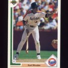 1991 Upper Deck Baseball #466 Karl Rhodes - Houston Astros