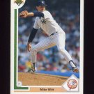 1991 Upper Deck Baseball #429 Mike Witt - New York Yankees