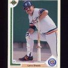 1991 Upper Deck Baseball #340 Larry Sheets - Detroit Tigers