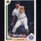 1991 Upper Deck Baseball #320 Walt Terrell - Detroit Tigers