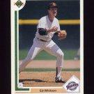 1991 Upper Deck Baseball #312 Ed Whitson - San Diego Padres