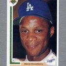 1991 Upper Deck Baseball #245 Darryl Strawberry - Los Angeles Dodgers