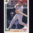 1991 Upper Deck Baseball #199 John Kruk - Philadelphia Phillies