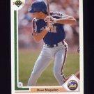 1991 Upper Deck Baseball #177 Dave Magadan - New York Mets
