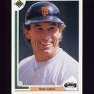 1991 Upper Deck Baseball #176 Gary Carter - San Francisco Giants