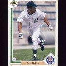 1991 Upper Deck Baseball #131 Tony Phillips - Detroit Tigers