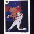 1991 Upper Deck Baseball #095 New York Mets Team Checklist / Gregg Jefferies
