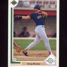 1991 Upper Deck Baseball #070 Greg Blosser - Boston Red Sox
