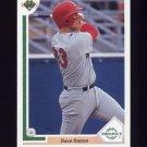 1991 Upper Deck Baseball #066 Dave Staton RC - San Diego Padres