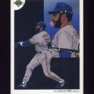 1991 Upper Deck Baseball #048 Milwaukee Brewers Team Checklist / Dave Parker