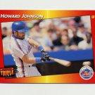 1992 Donruss Triple Play Baseball #236 Howard Johnson - New York Mets