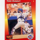 1992 Donruss Triple Play Baseball #104 Todd Hundley - New York Mets