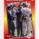 1992 Donruss Triple Play Baseball #080 Roger McDowell - Los Angeles Dodgers