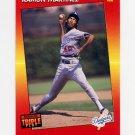 1992 Donruss Triple Play Baseball #055 Ramon Martinez - Los Angeles Dodgers