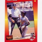 1992 Donruss Triple Play Baseball #049 Alex Cole - Cleveland Indians