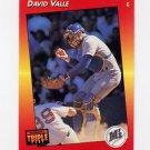1992 Donruss Triple Play Baseball #005 David Valle - Seattle Mariners