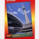 1992 Donruss Triple Play Baseball #001 Skydome - Toronto Blue Jays