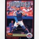 1993 Donruss Triple Play Baseball #218 Todd Hundley - New York Mets
