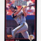 1993 Donruss Triple Play Baseball #182 Jeff King - Pittsburgh Pirates