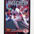 1993 Donruss Triple Play Baseball #157 Billy Hatcher - Boston Red Sox