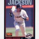 1993 Donruss Triple Play Baseball #138 Darrin Jackson - San Diego Padres