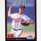 1993 Donruss Triple Play Baseball #105 David Nied - Colorado Rockies