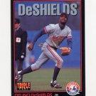 1993 Donruss Triple Play Baseball #102 Delino DeShields - Montreal Expos